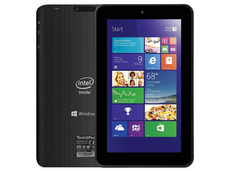 Tablet Tech Pad Win816: Procesador Intel Atom Z3735 Quad Core (hasta 1.83 GHz), Memoria RAM de 1GB, Almacenamiento de 16GB, Cámaras 0.3MP/2.0MP, Pantalla LED de 8