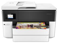 Multifuncional de Inyección de Tinta a Color HP Officejet 7740, Impresora, Escáner, Copiadora y Fax, Ethernet, USB, Wi-Fi, Ethernet.