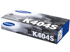Cartucho de Tóner Samsung Negro, Modelo: CLT-K404S.