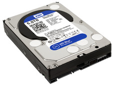 Disco Duro Western Digital Blue de 6TB, 5400 RPM, Caché 64MB, SATA III (6 Gb/s).