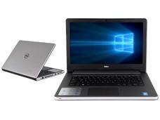 Notebook DELL Inspiron 14-5458: CPU Intel Core i3 5005U (2.0 GHz), D.D. 1TB, RAM 4GB DDR3L, Gráficos Intel HD Graphics 5500, Pantalla 14
