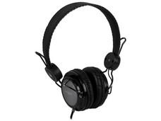 Audífonos Acteck Crystal Sound modelo AF-540, con Micrófono y control de volumen en el cable.