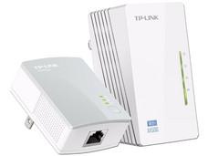 Kit de inicio de  Adaptadores de red Powerline Wireless Extender TP-LINK hasta 300 Mbps.