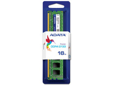 Memoria ADATA  DDR4 PC4-17000 (2133MHz), CL15, 16GB.