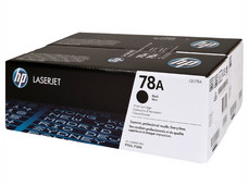 Dual Pack de Cartucho de Tóner HP Modelo: CE278AD, Negro