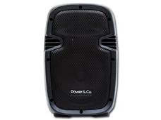 Bocina Power & Co XP-8000 de 2500 Watts, Batería recargable, Radio FM, USB/SD, color Negro