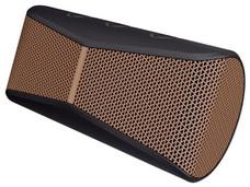 Bocina portátil Logitech X300, recargable, Bluetooth.