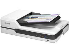 Escáner de cama plana Epson DS-1630 , 30 bits, hasta 1200 dpi, con ADF.