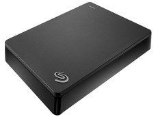 Disco Duro Portátil Seagate Backup Plus de 4 TB, USB 3.0, Color Negro.