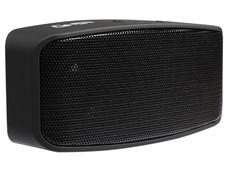 Bocina portátil Ghia Wave GAC-039 con radio FM, Bluetooth, 3.5mm. Color Negro.