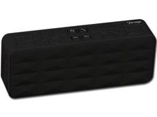 Bocina portátil recargable Vorago BSP-100, Bluetooth, 3.5mm. Color Negro.