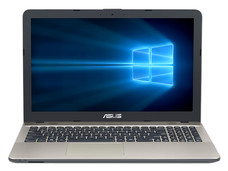 Notebook ASUS Vivobook Max X541NA: CPU Intel Pentium N 4200 (hasta 2.50 GHz), D.D. 500GB, RAM 4GB DDR3L, Gráficos Intel HD Graphics 505, Pantalla 15.6