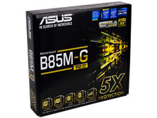 T. Madre ASUS B85M-G R2.0, Chipset Intel B85 Exp., Soporta: Core i7/i5/i3 de Socket 1150, Memoria: DDR3 1600/1333/1066 MHz, 32GB Max, Integrado: Audio HD, Red, USB 3.0 y SATA 3.0, Micro-ATX, Ptos: 1xPCIE 3.0 x16, 2xPCIEx1