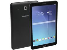 Tablet Samsung Galaxy Tab E: Procesador Quad Core (1.3 GHz), Memoria RAM de 1.5GB, Almacenamiento de 8GB, Soporta micro SD, Pantalla de 9.6