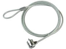 Cable de Seguridad TechZone con candado de llave (2.1 m). OEM