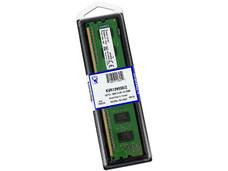 Memoria Kingston DDR3, PC3-10600 (1333MHz), CL 9, 2 GB.