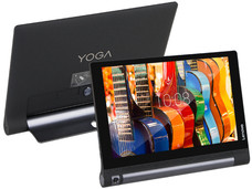 Tablet Lenovo Yoga Tab 3 10: Red Inalámbrica 4G, Procesador Quad Core (1.1 GHz), Memoria RAM de 1 GB, Almacenamiento de 16GB, Pantalla IPS Multi-touch de 10.1.