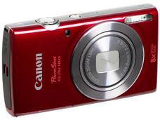Cámara Fotográfica Digital Canon PowerShot ELPH 180, 20.0 MP, Zoom Óptico 8x, Video Full HD. Color Rojo.
