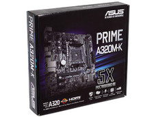 T. Madre Asus PRIME A320M-K, Chipset AMD A320, Soporta: Procesador AMD 7th Generación A-series / Athlon, Socket AM4, Memoria: DDR4 3200(O.C.)/2400/2133 MHz, 32GB Max, Integrado: Audio HD, Red, USB 3.0, SATA 3.0, Micro-ATX, Ptos: 1xPCIE 3.0 x16.