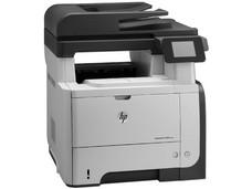 Multifuncional HP LaserJet Pro M521dn, Impresora Láser, Copiadora, Escáner y Fax, Pantalla touch de 3.5