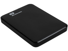 Disco Duro Portátil Western Digital Elements de 1 TB, USB 3.0.