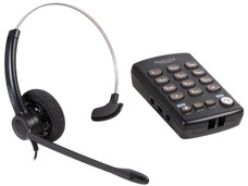 Teléfono Plantronics T110 analógico de diadema.
