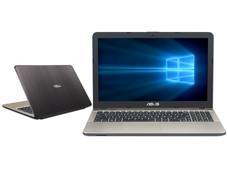 Notebook ASUS Vivobook Max X541NA: CPU Intel Pentium N 4200 (hasta 2.50 GHz), D.D. 500GB, RAM 4GB DDR3L, Gráficos Intel HD Graphics 505, Pantalla 15.6