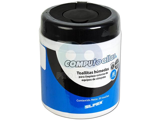 Toallas húmedas limpiadoras Silimex, para uso exclusivamente externo, 30pzs.